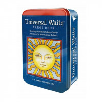 Universal Waite Tarot in tin