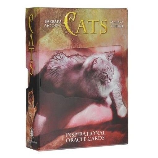 Cats. Inspirational Oracle Cards